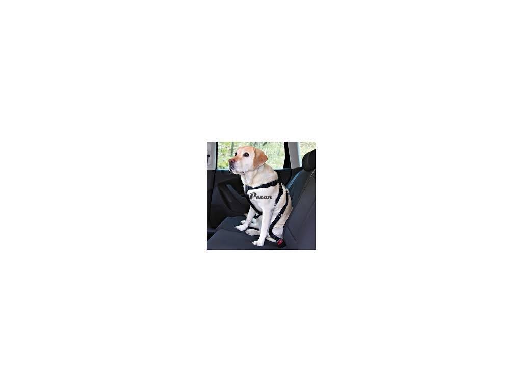 Postroj pes Bezpečnostní do auta L 70-90cm Trixie