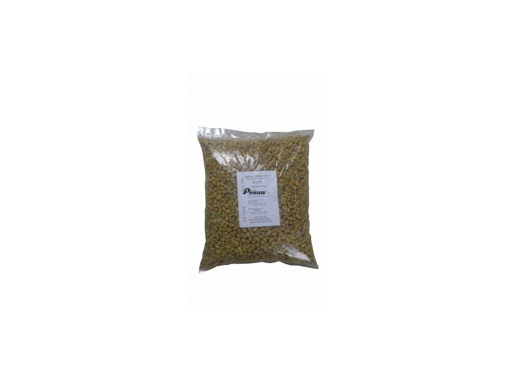 Krmné Těstoviny Kolínka žlutá 4.5 kg