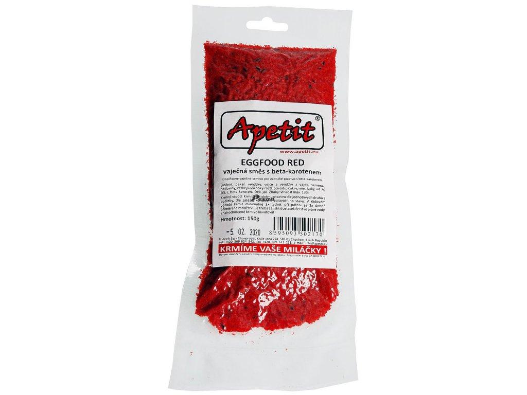 Apetit Eggfood red s beta karoten 150g