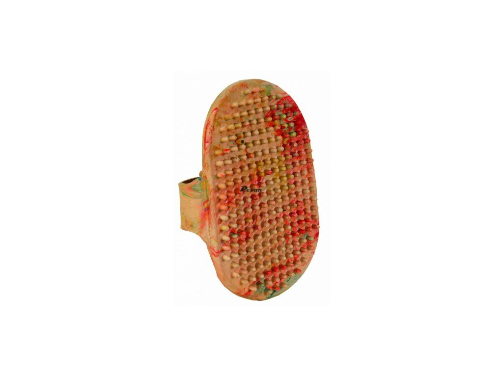 Kartáč gumový dlaňový pro psy 8 x13 cm TR