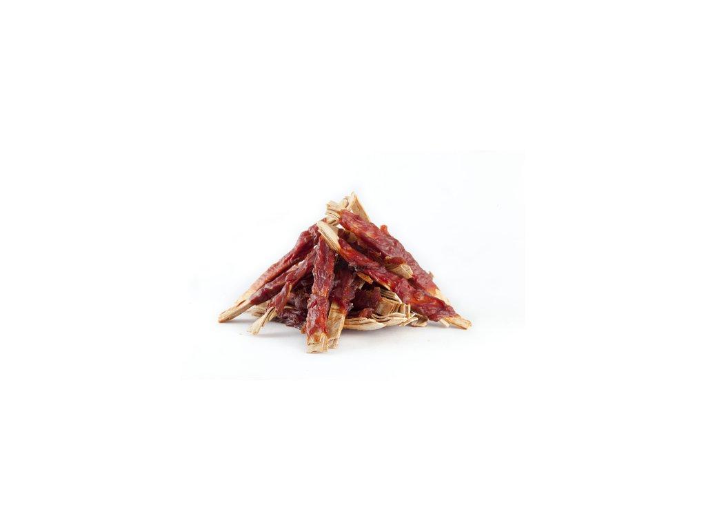 Want Rybí proužky omotané kachním masem 250 g 2593