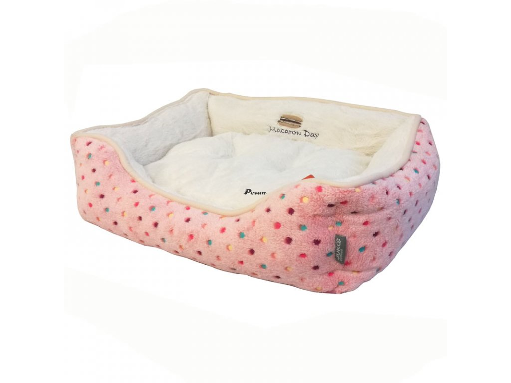 Pelišek s puntíky Extra soft Bed S 61cm-89024YF-S