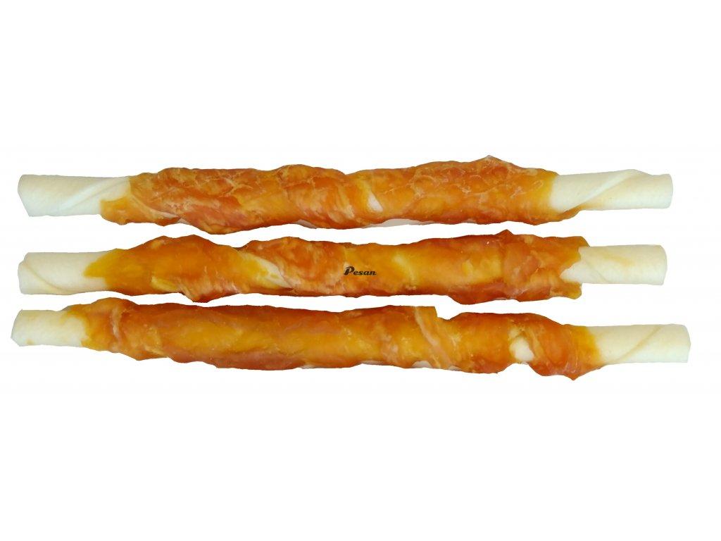 Buvolí tyčinka + Kuře 12,5cm (1 balení á 6ks) 13596
