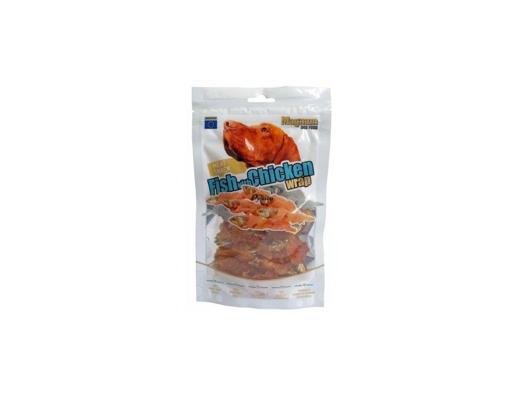 Magnum Fish With Chicken Wrap 80g 16.566