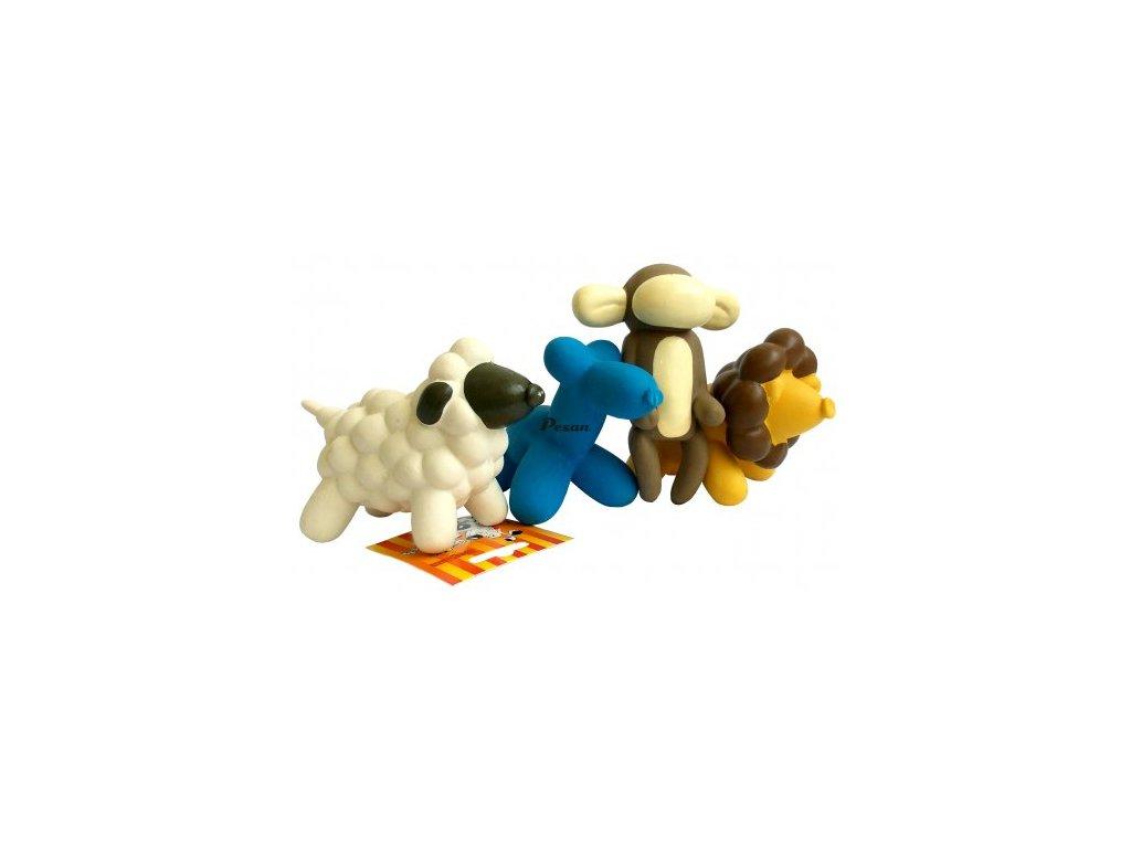 Hračka mini latex 24cm (pes,opice,ovečka,lvíček) 7.948