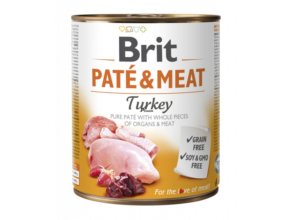 Brit Paté & Meat Turkey 800 g