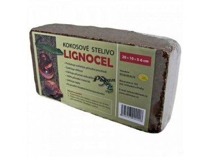 Lignocel kostka - kokosové vlákno