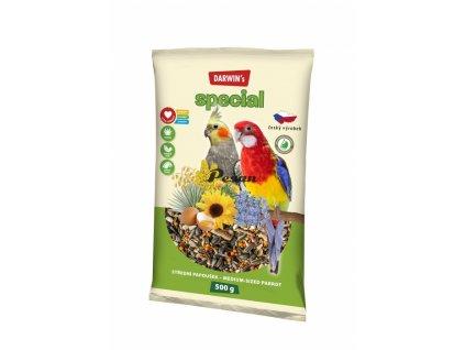 DARWIN's - NEW střední papoušek SPECIAL 500 g