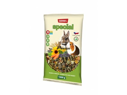 DARWIN's - NEW morče, králík SPECIAL 1000 g
