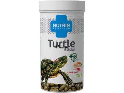 NUTRIN  Aquarium - TURTLE STICKS 70g (250ml) - Kompletní krmivo pro vodní masožravé želvy.