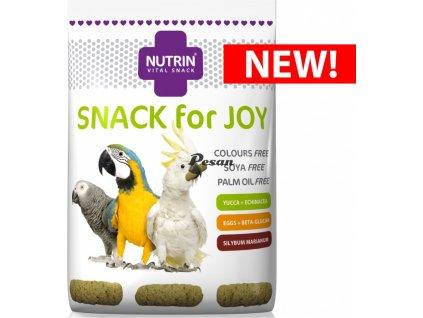 NUTRIN  Vital Snack - Snack for joy 100g pro papoušky s echinaceou, beta-glukanen, ostropestřcem