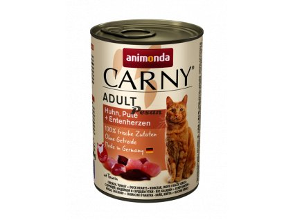 csm 83741 animonda Carny Adult Huhn Pute und Entenherzen e34fe562ae