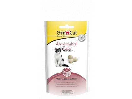 GimCat Anti-Hairball Tabs 40g