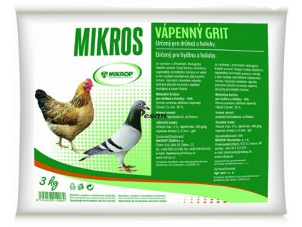 Mikrop VPC vápenný grit plv 3 kg