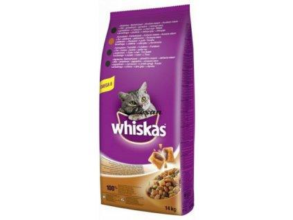 Whiskas Dry Adult Kuřecí 14 kg
