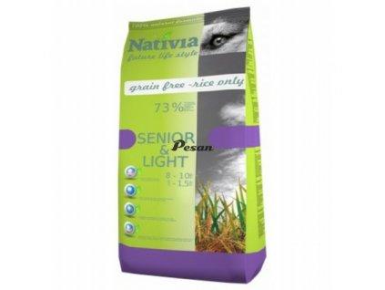 Nativia Dog Senior & Light 15 kg
