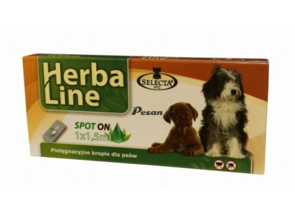 Herba Max Spot On DOG BIG pro psy velkých plemen 1x1,5ml