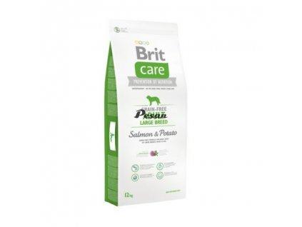 Brit Care Dog Grain-free Adult Large Breed Salmon & Potato 12 kg