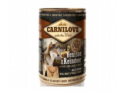 Carnilove Can Dog Wild Meat Venison & Reindeer 400 g
