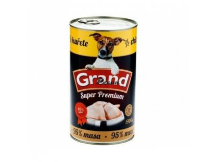 GRAND grex konzerva 1/2 kuřete   1300g