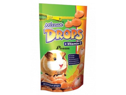 drops orange