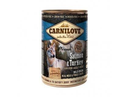 Carnilove Can Dog Wild Meat Salmon & Turkey 400 g