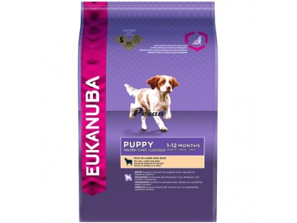 Eukanuba Puppy Junior Lamb Rice 12kg