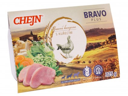 CHEJN BRAVO Plus vanička s kuřecí 325g