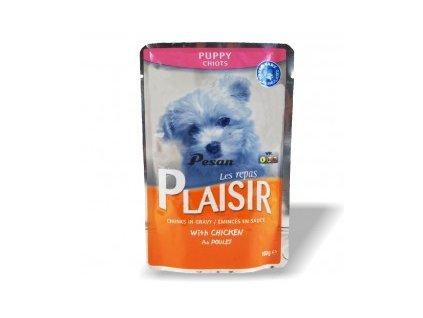 Plaisir Dog Kapsička 100g PUPPY pro štěňata s kuřecím masem