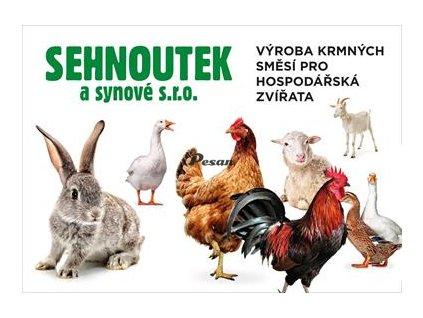 KKV AdiCox Kompletní krmná směs pro výkrm králíků 25 kg