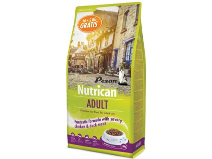 NutriCan Cat Adult 10+2 kg