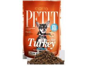 Petit Dry Adult Turkey with Rice Low Grain 1,5 kg