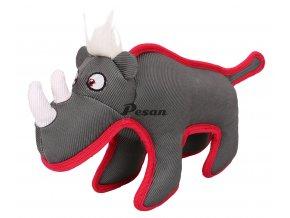 Pevná a odolná hračka-Nosorožec 16x34cm-14089