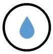 ikona voděodolnost