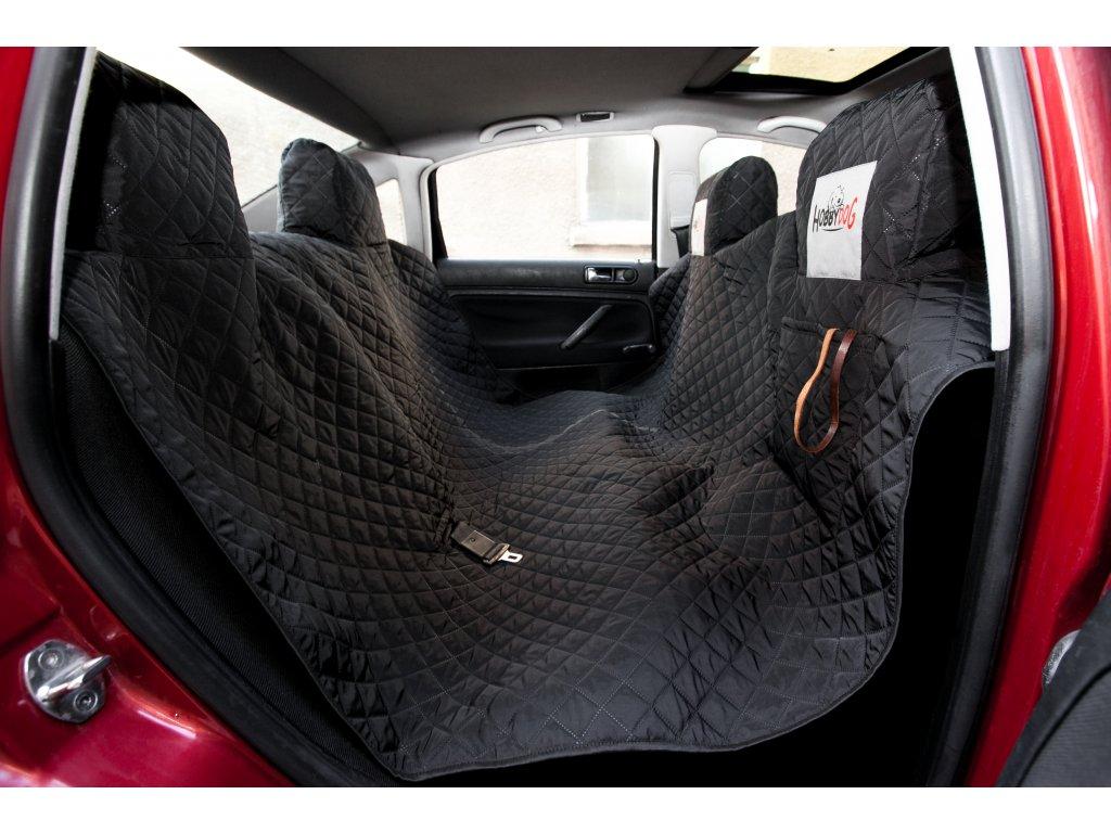 Ochranný potah na zadní sedačky, černý