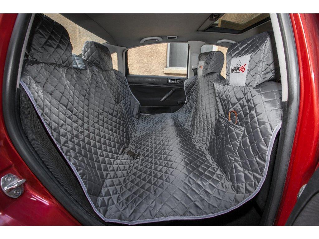 Ochranný potah na zadní sedačky, šedý