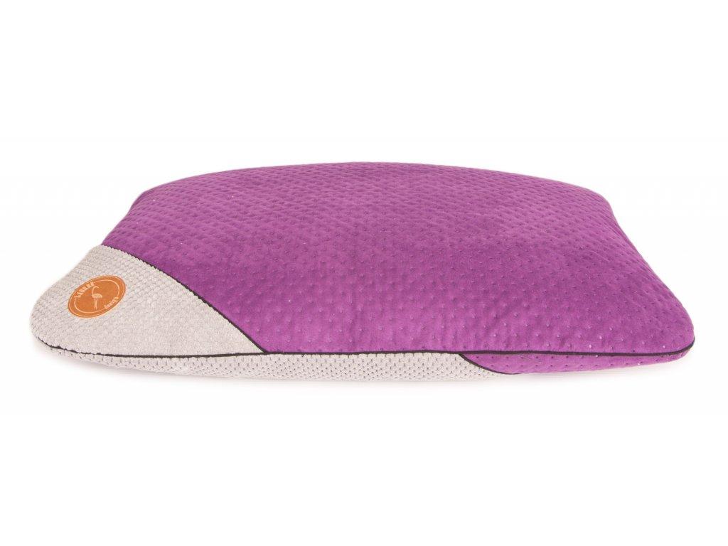polštář Frida fialová