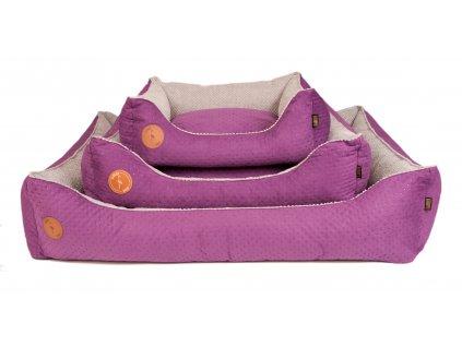 pelech pro psa vsechny velikosti fialova,seda (4)