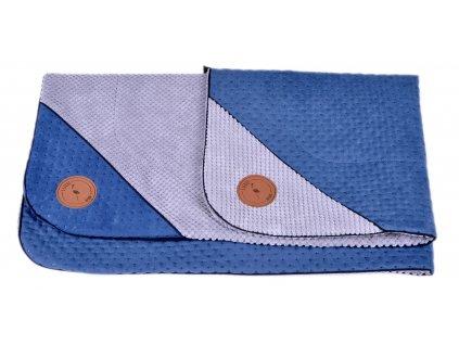 podložka modrá