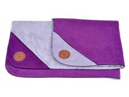 podložka fialová
