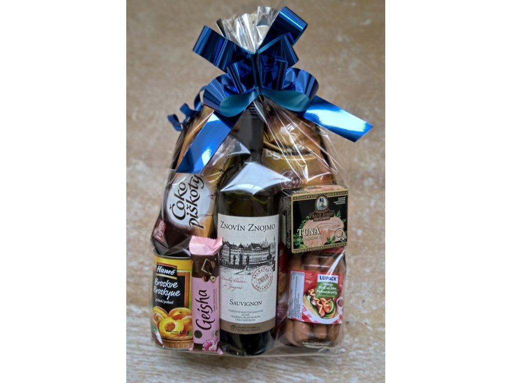 Dárkový balíček s jakostním vínem ze Znovín Znojmo