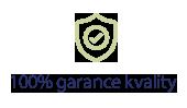 100% garance kvality