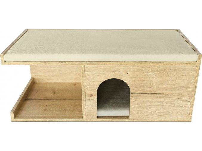Psí bouda do bytu rustikální