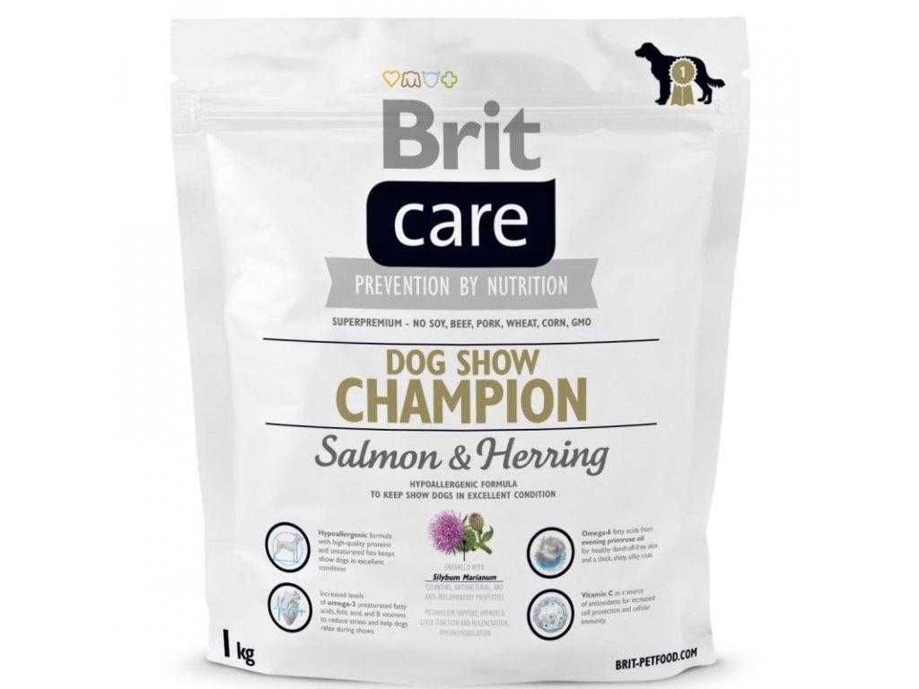 3627 brit care dog show champion 1kg