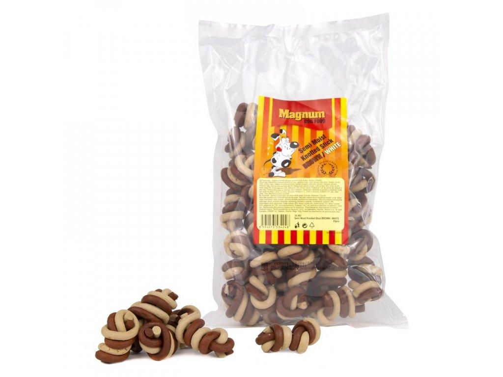 2091 magnum jerky uzlik 25ks brown white