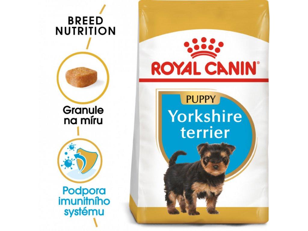 Yorkshire Puppy granule pro štěně jorkšíra 500g
