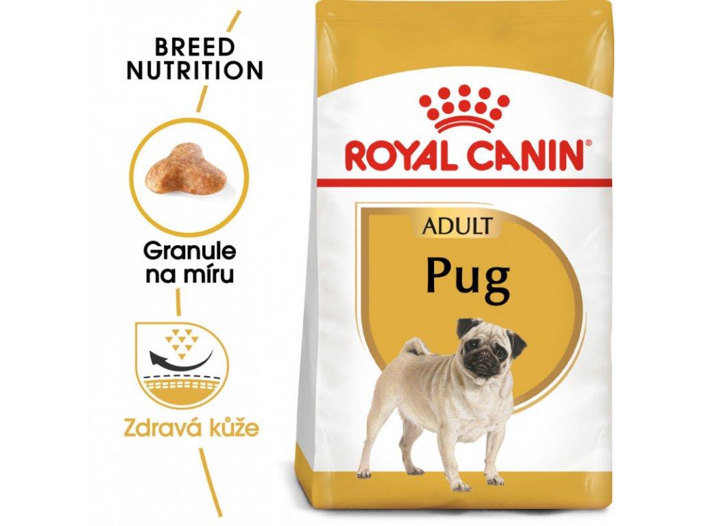 Pug Adult granule pro dospělého mopse 1500g