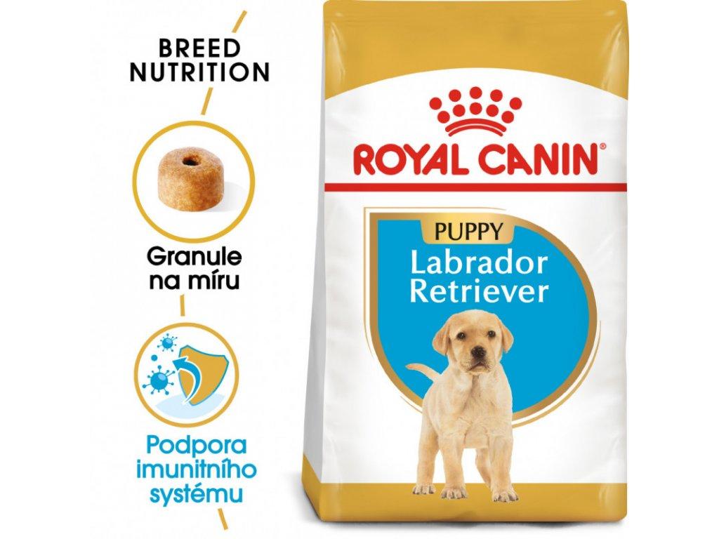 Labrador Puppy granule pro štěně labradora 3000g