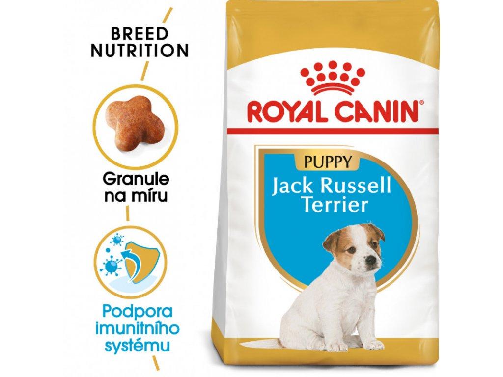 Jack Russell Puppy granule pro štěně jack russell teriéra 1500g