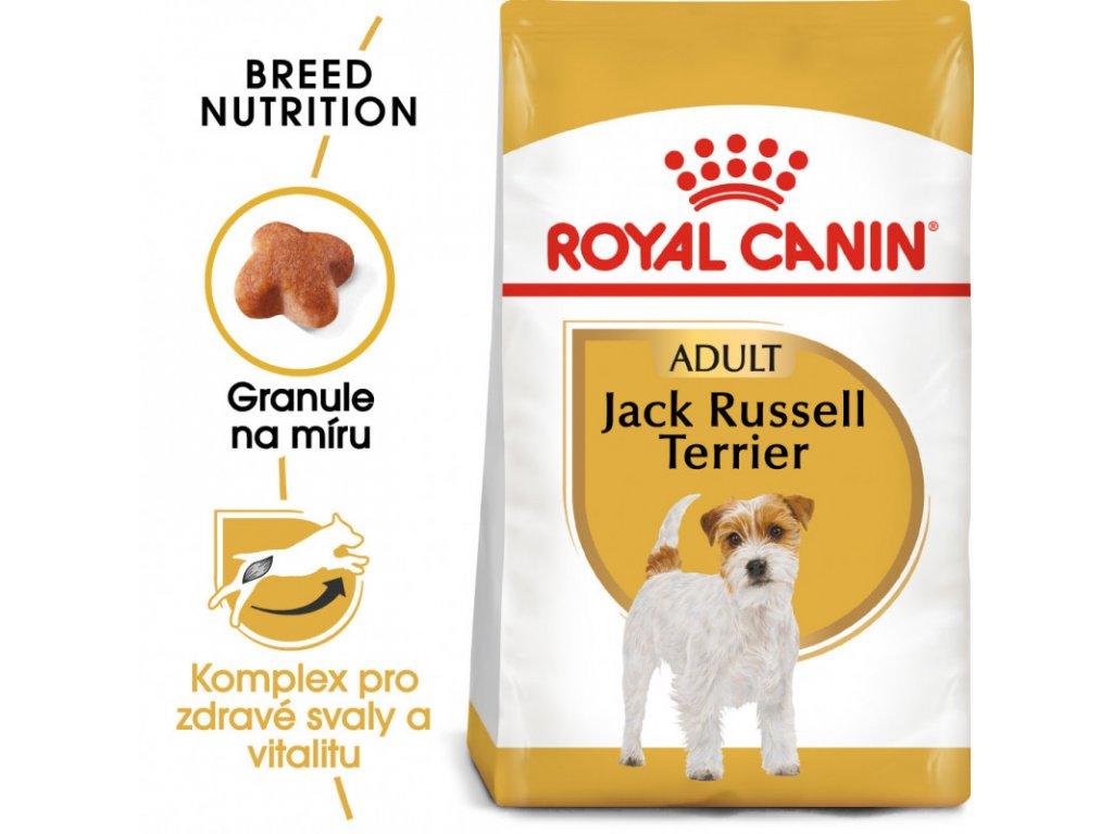 Jack Russell Adult granule pro dospělého jack russell teriéra 500g